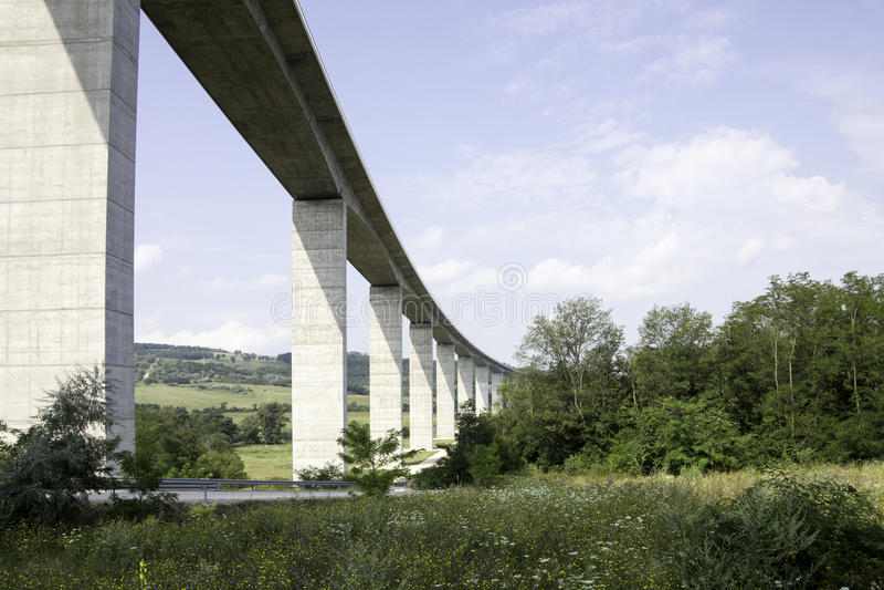 Groot wegviaduct stock fotografie