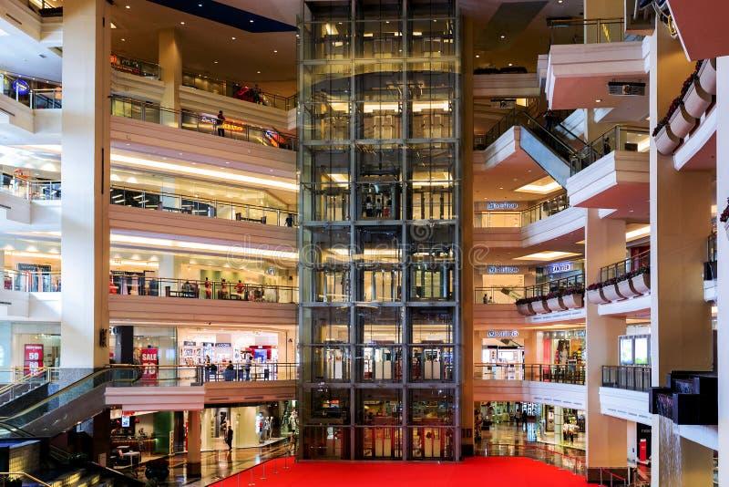 Groot winkelend centrum in Djakarta royalty-vrije stock foto's