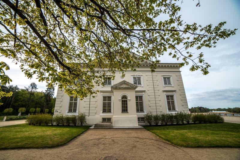 Groot wit huis royalty-vrije stock foto's