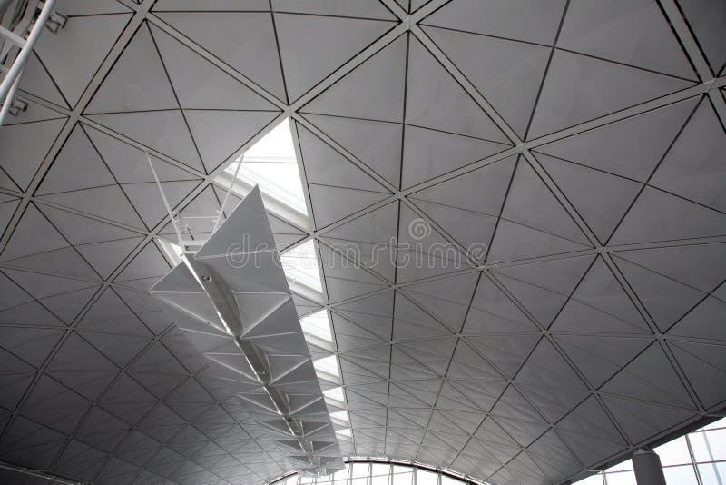 Groot wit plafond stock foto's