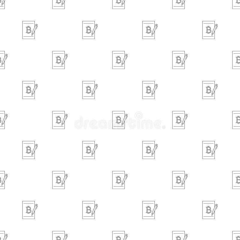 Grootboekachtergrond van lijnpictogram vector illustratie