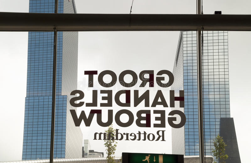 Download Groothandels Gebouw, Rotterdam Editorial Stock Image - Image of window, characters: 83720599
