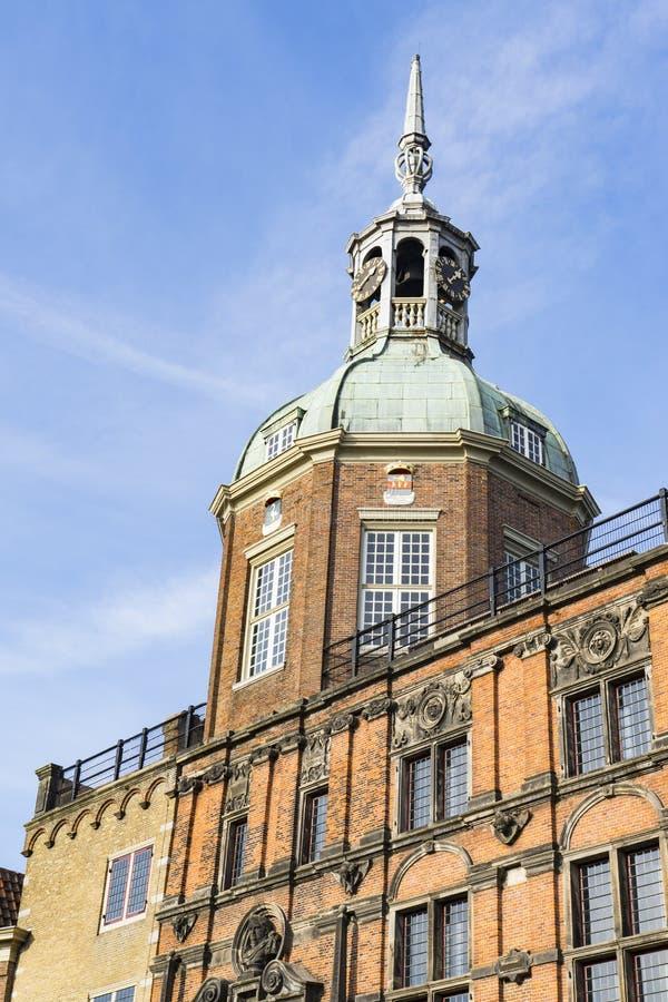 Groothoofdspoort in Dordrecht, Nederland stock afbeeldingen
