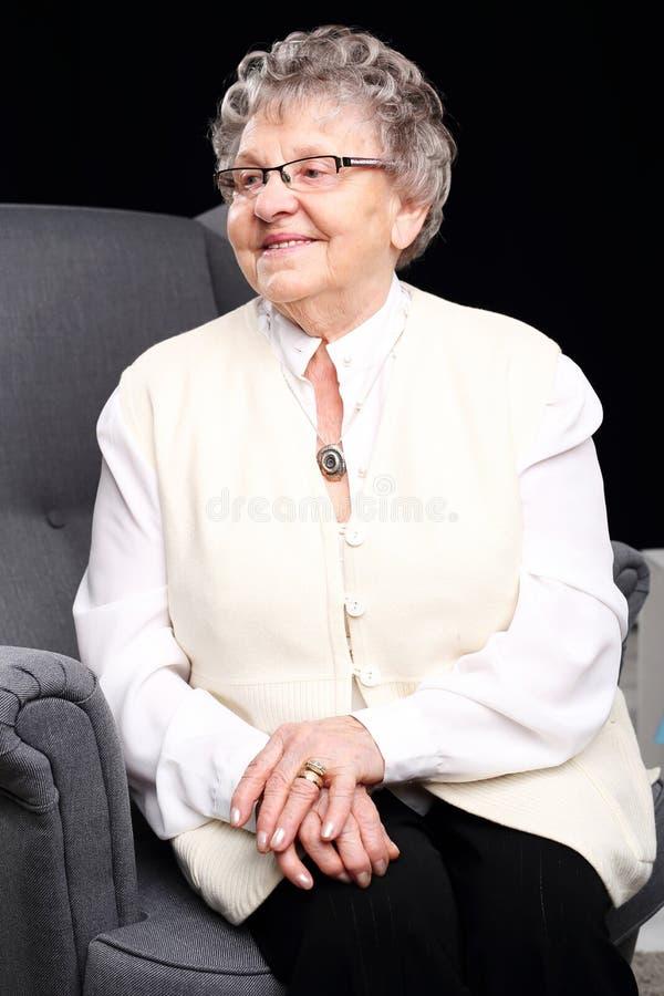 grootmoeder royalty-vrije stock foto's