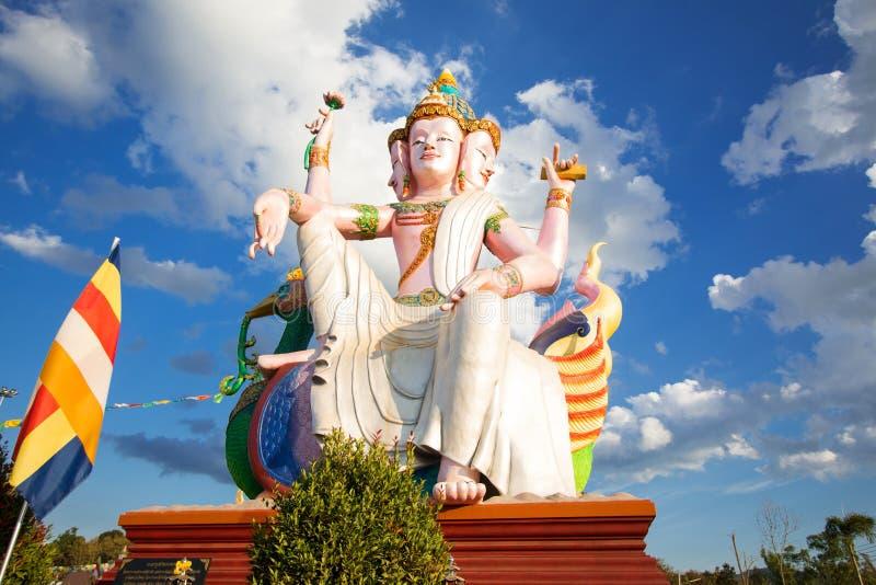 Grootste Brahma, de Hindoese God stock foto's