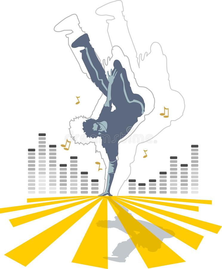 Download Groove Dance stock illustration. Illustration of disco - 10457797