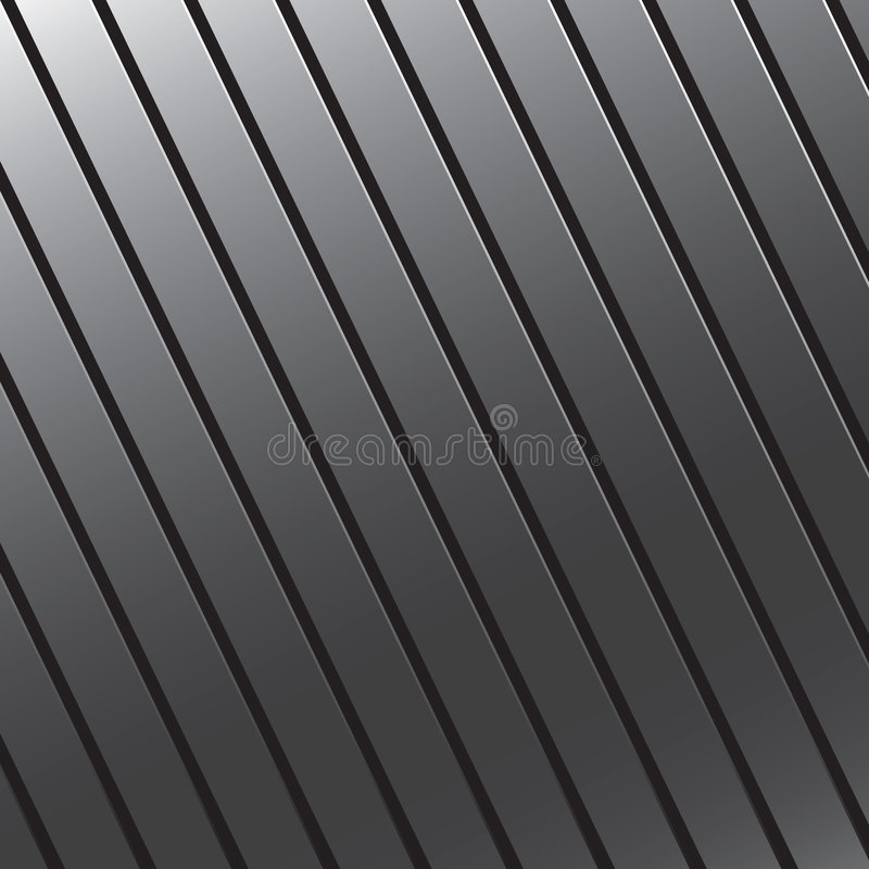 Grooved Metal Texture vector illustration
