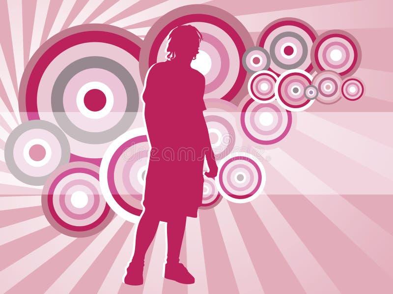 Download Groovy έφηβος απεικόνιση αποθεμάτων. εικονογραφία από θέση - 1528902
