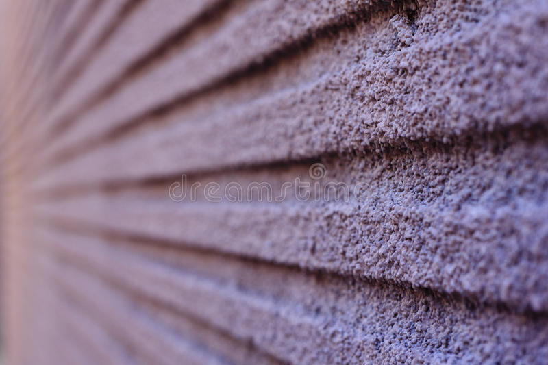 Groovy. Wall with great texture, shot with a shallow depth of field royalty free stock photos