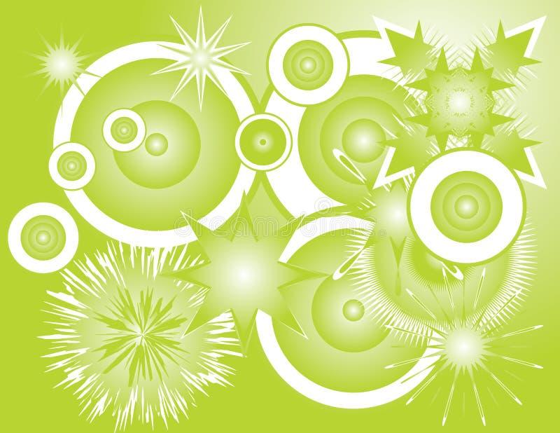 groovy bakgrund vektor illustrationer