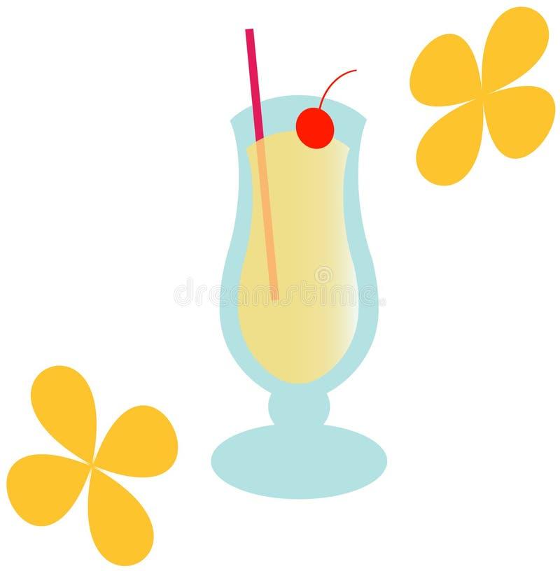 Download Groovy Pina Colada - Illustration Stock Illustration - Illustration of colorful, floral: 158762