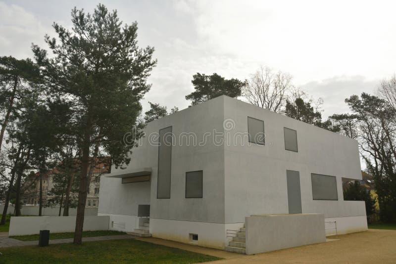 Gropiushaus dans Dessau-Rosslau image stock