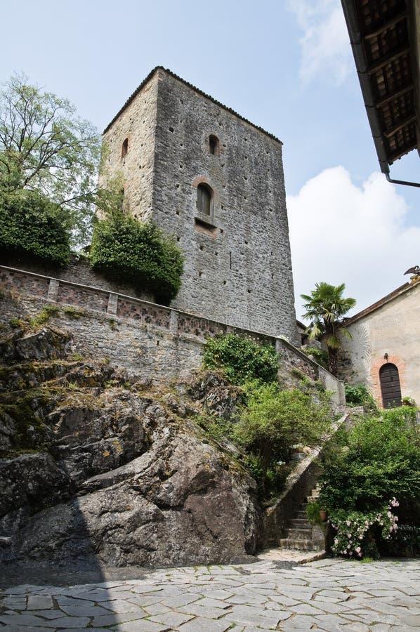 Gropparello Castle Αιμιλία-Ρωμανία Ιταλία στοκ φωτογραφίες