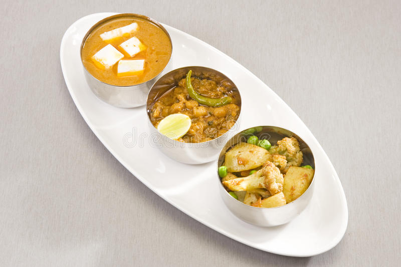 Gropu индийского блюда карри стоковое изображение rf