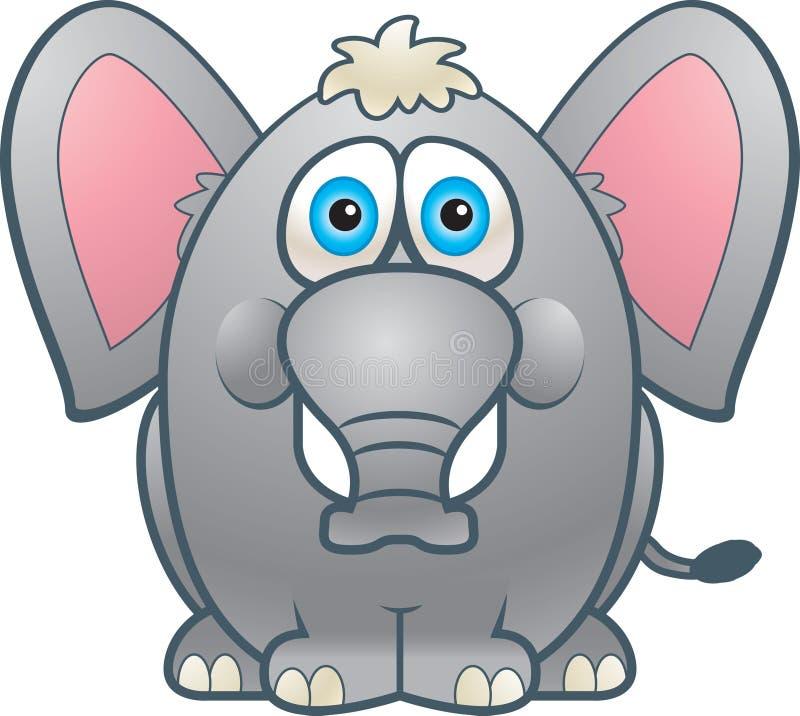 Gros éléphant illustration stock
