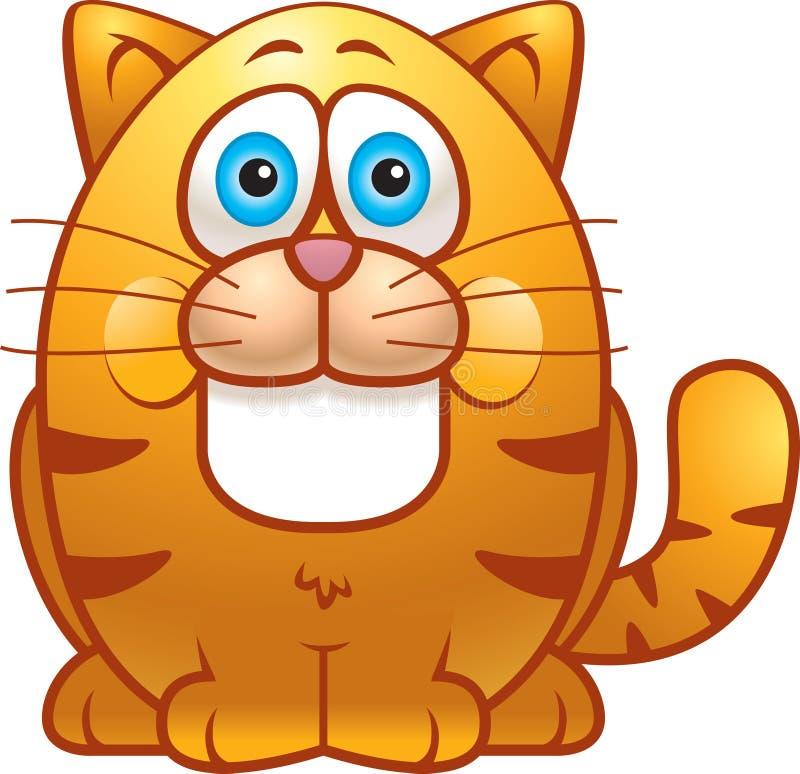Gros chat illustration de vecteur