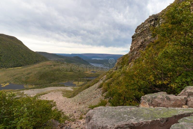 Gros de descente Morne photo stock