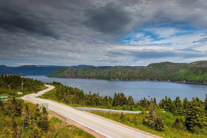 Gros Morne National Park, baie de Bonne, Terre-Neuve, Canada photographie stock libre de droits