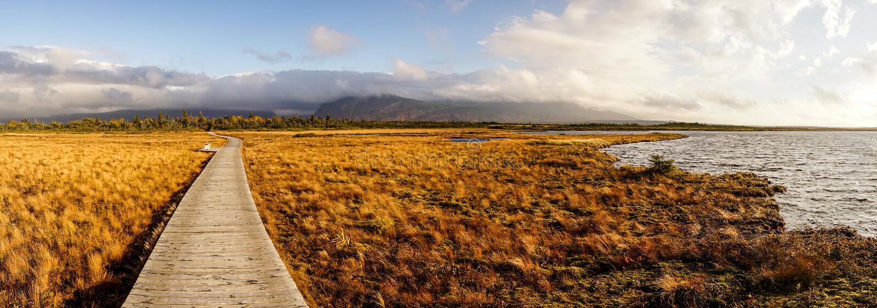 Gros Morne National Park em Terra Nova, Canadá fotos de stock royalty free