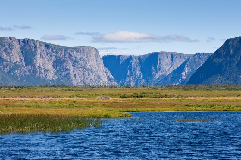 Gros Morne National Park Newfoundland Canada photographie stock libre de droits