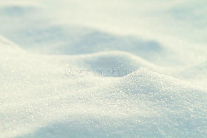 Gros plan de neige photographie stock libre de droits