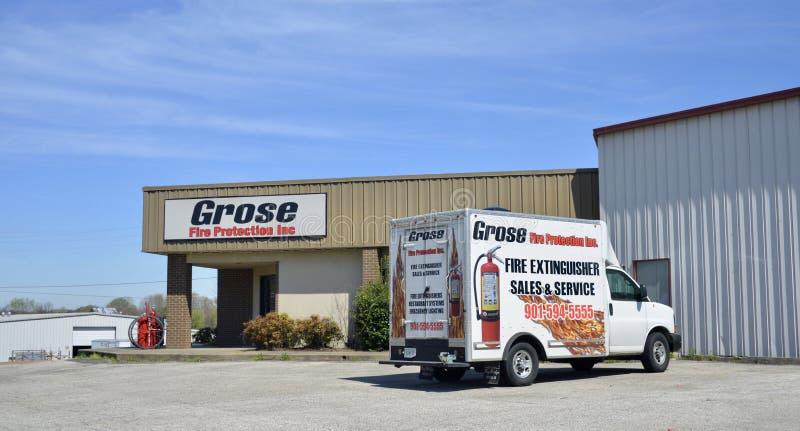 Grose Fire Protection Company,泥工, TN 免版税图库摄影