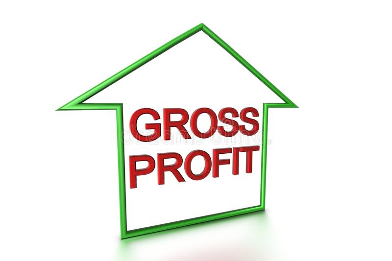 Download Gross Profit stock illustration. Illustration of currency - 9927634