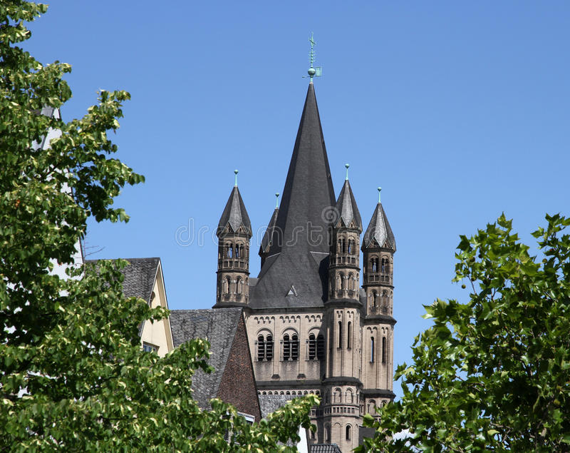 Download Gross St. Martin (Great Saint Martin), Cologne Stock Photo - Image: 21837544