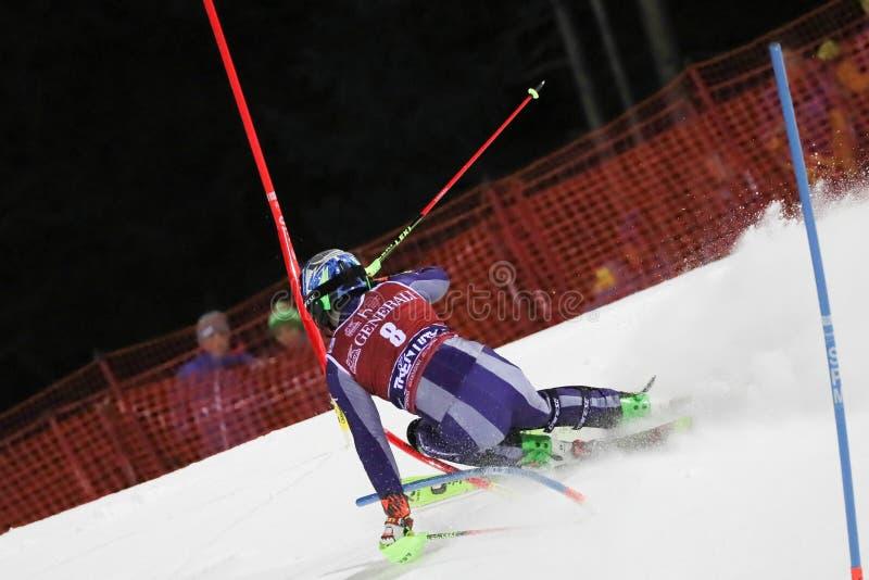 Ski FIS AUDI World Cup - Slalom Men stock photography