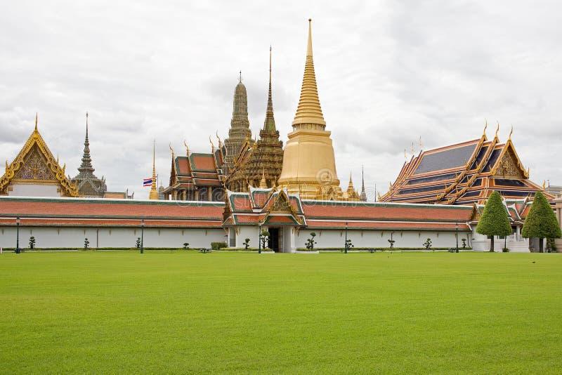 GROSSARTIGER PALAST BANGKOK, THAILAND stockfoto