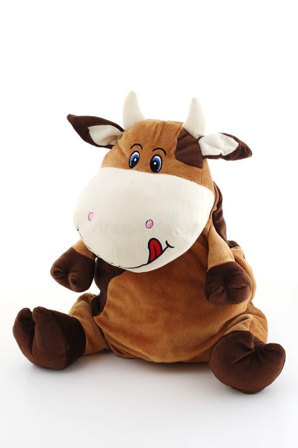 Grosse vache folle drôle image libre de droits