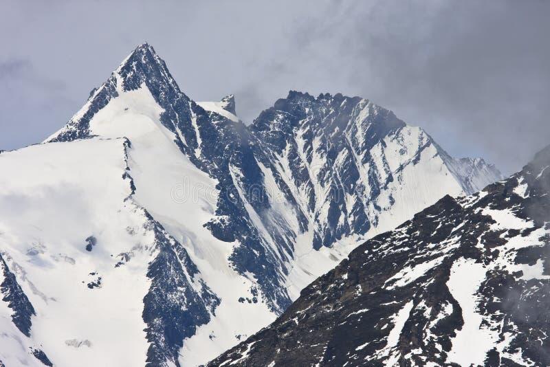 Grossglockner, το υψηλότερο βουνό της Αυστρίας στοκ φωτογραφίες με δικαίωμα ελεύθερης χρήσης