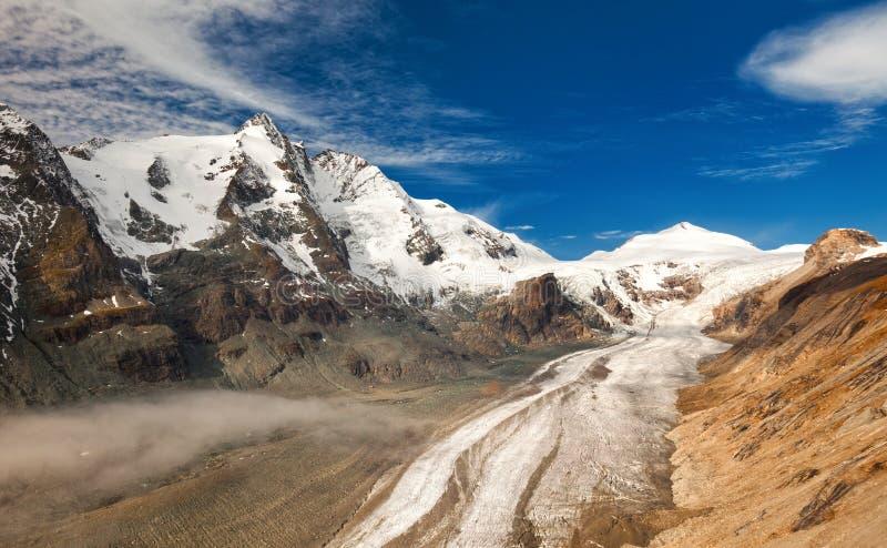Download Grossglockner в Австралии - взгляде гор и ледника Стоковое Изображение - изображение насчитывающей landscaped, ледник: 33730935