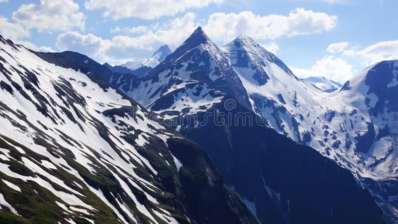 Grossglockner High Alpine Road. Austria royalty free stock photography