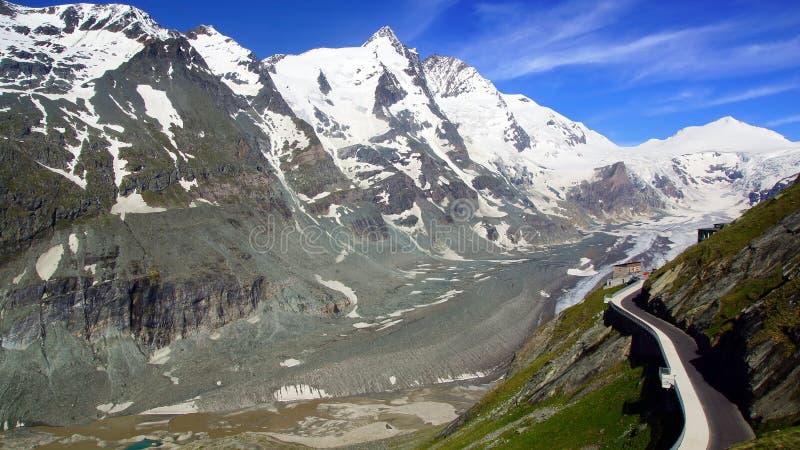 Grossglockner High Alpine Road. Austria stock images