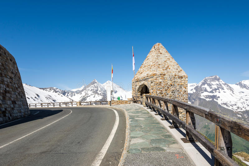 Grossglockner High Alpine Road stock photography
