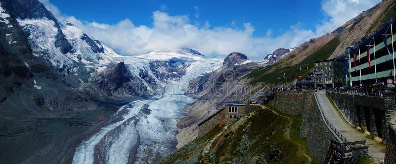 Grossglockner lodowiec obraz royalty free