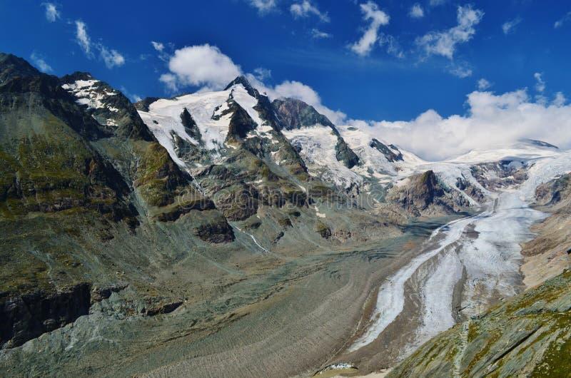 Grossglockner lodowiec fotografia stock