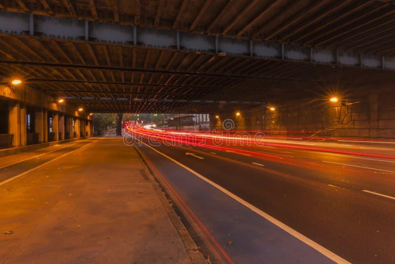 Grosvenor桥梁 库存照片