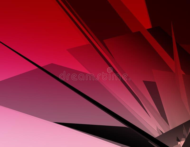 Grote 3D Illustratie vector illustratie
