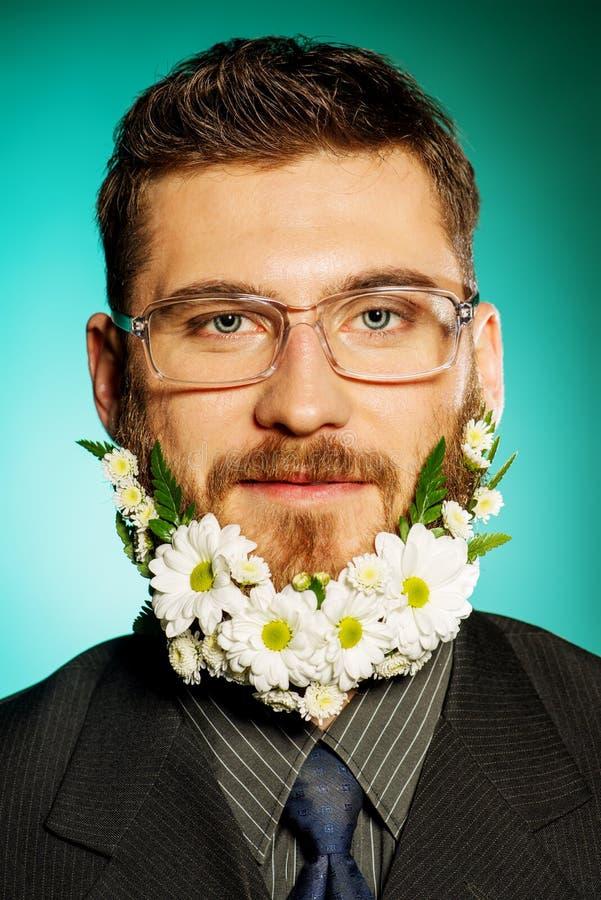 Grote baard stock fotografie