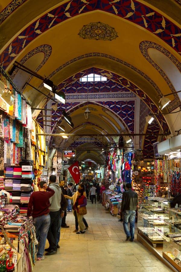 Grote Bazaar stock afbeeldingen