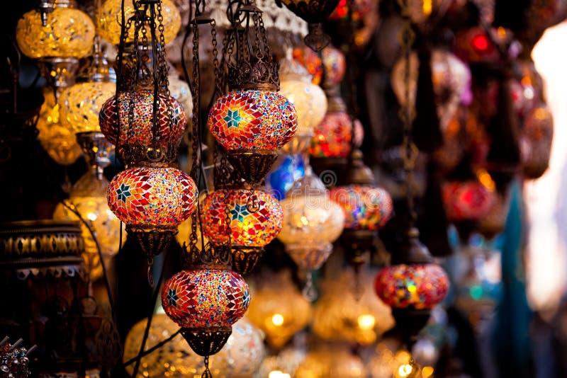 Grote Bazaar in Istanboel, Turkije royalty-vrije stock foto