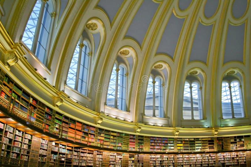 Grote Bibliotheek stock foto's