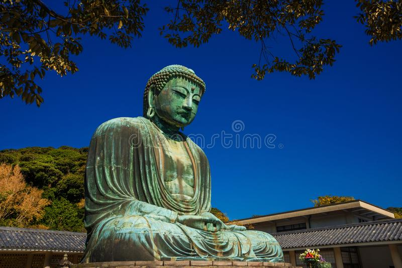 Grote Boedha in Kamakura, Japan stock fotografie