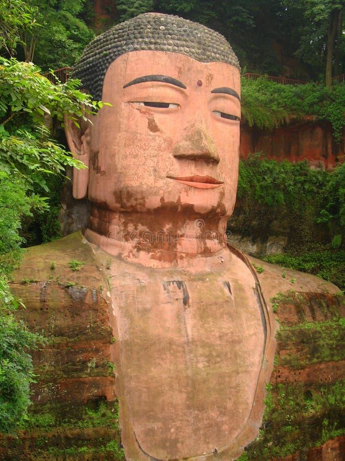 Grote Boedha van Leshan, China stock foto's