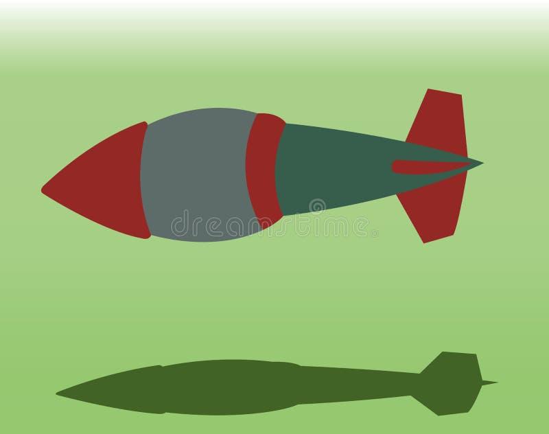 Grote Bom 3 vector illustratie