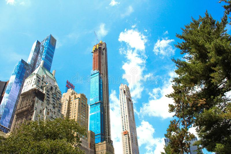 Grote Bouwers in New York stock foto's
