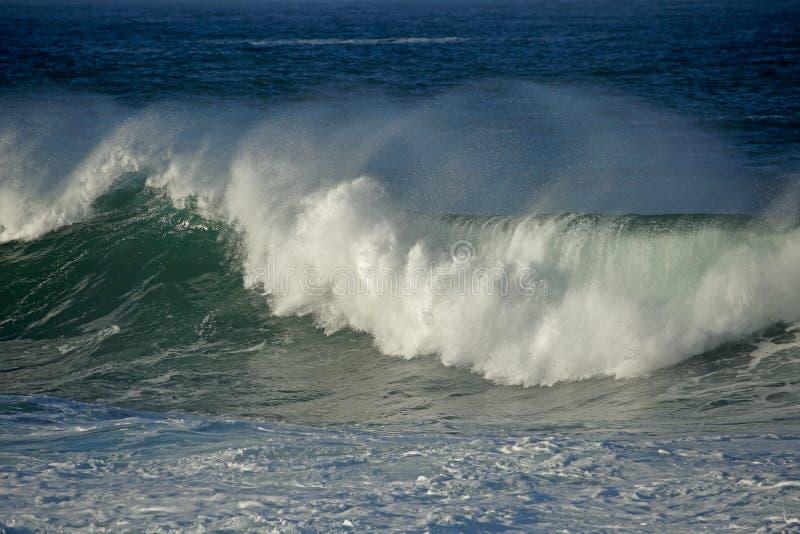 Grote Brekende Golf royalty-vrije stock afbeeldingen