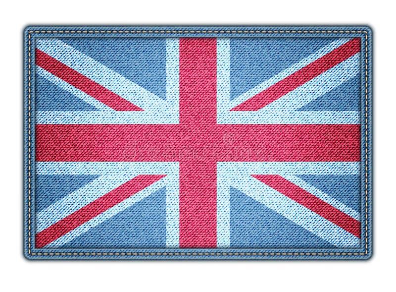 Grote Britan-vlag. Vectorillustratie. eps10 vector illustratie